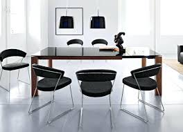 Extending Dining Table And 8 Chairs Extendable Contemporary Glass Top Dining Table Extending Glass