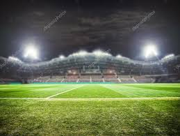 how tall are football stadium lights stadium lights at night stock photo roman l olegovic 75760141