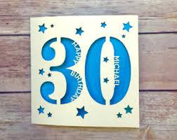 30th birthday cards etsy