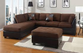 Sectional Microfiber Sofa Couches Sofas Radkahair Org Home Design Ideas