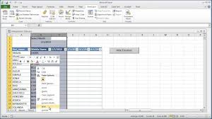 vba excel hide columns based on user selection worksheet change