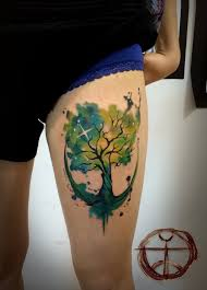 34 watercolor tree designs amazing ideas