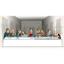 lord s supper plates clipart picture of a of the last supper by