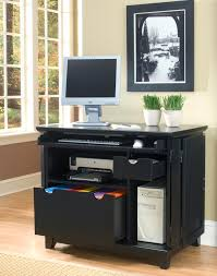 home styles arts u0026 crafts ebony compact computer cabinet 5181 19