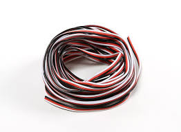 26awg servo wire 5mtr red black white
