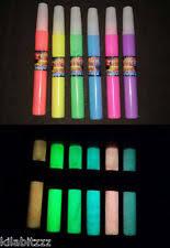 rolkem full set of 6 lumo neon glow in the dark edible sugarcraft