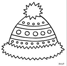 Dessin à imprimer un bonnet  Doryfr coloriages
