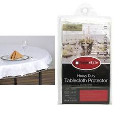 thick clear vinyl table protector table protector ebay