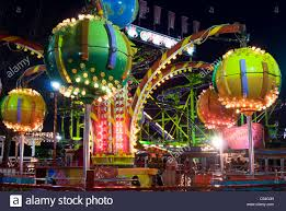 one of the rides at winter an annual fair and