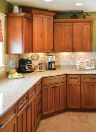 Oak Cabinet Kitchens Kitchen Ideas Decorating With White Appliances Painted