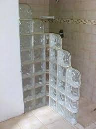glass block bathroom designs bathroom glass block wall bathroom remodel medium size decoration