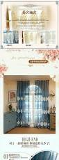 Expensive Living Room Curtains Embroidered Curtains For Living Room Blue Home Textile Cortina