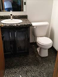 Bathroom Backsplash Ideas And Pictures by 544 Best Bathroom Pebble Tile And Stone Tile Ideas Images On