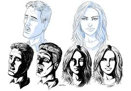 ram studios comics how to draw shadows on comic book faces by