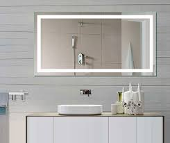 Lighted Mirrors For Bathroom Mirror Design Ideas Led Sle Illuminated Mirrors For Bathrooms