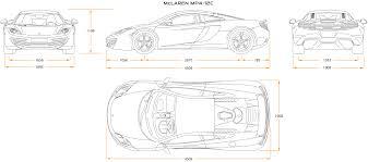 mclaren p1 drawing easy mad 4 wheels 2010 mc laren mp4 12c