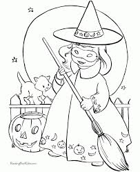 free witch coloring pages toddlers vnspn