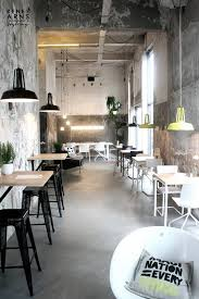 industrial café which color scheme should be used