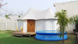 Permanent Tent Cabins Noor Mahal Luxury Resort Tent Manufacturer In India Resort Tent