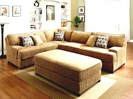 Corduroy Sectional Sofa Classic Living Room With Corduroy Sectional Sofa And L Shape