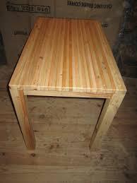 table cuisine en pin table cuisine palette tuto fabriquer une table basse en palettes