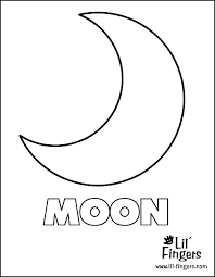 and moon template 48 images moon templates moon template