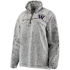 gray gray and gray washington huskies sweatshirts hoodies and fleece university of
