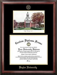 a m diploma frame baylor gold embossed diploma frame with cus images