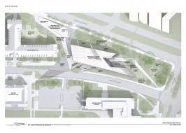 Michigan State Campus Map Gallery Of In Progress Broad Art Museum Zaha Hadid 15