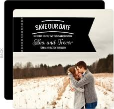 save the date announcements winter save the date cards winter save the dates