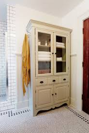 Towel Cabinet For Bathroom Tv Armoir To Linen Cabinet Traditional Bathroom Wichita By