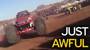 videos of monster trucks crashing horrifying footage shows moment monster truck kills 13 spectators