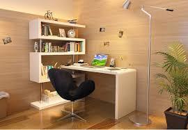 Desk And Bookshelf Combo Jmt Kd002 Modern Writing Desk Shelf Combo In White Laquer Finish