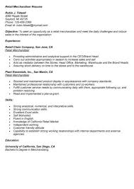 Merchandising Resume Examples by Merchandiser Resume Sample Enwurf Csat Co
