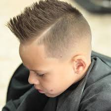 Trendy Guys Hairstyles by Cool Hairstyles For Kids Boys Trendy Guys Side Faux Hawk Short