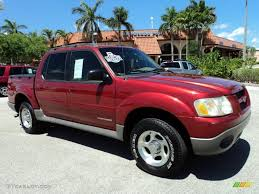 red 2002 ford explorer sport trac on red images tractor service