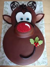Diy Adorable Rudolph Red Nose Reindeer Cake Tutorial