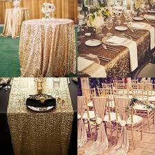 wedding decorations wholesale custom made sequined wedding accessories for tables and chairs