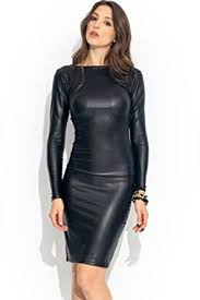 black dress uk new women s plus size style look faux leather