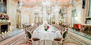 Cuisine Style Bistrot Parisien by Luxury 5 Star Hotel In Paris Le Meurice Dorchester Collection