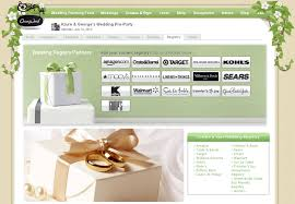 sears wedding registry registry on onewed