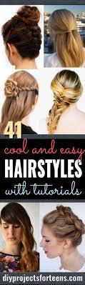 Sch Ste Kurzhaarfrisuren by Best 25 Cool Easy Hairstyles Ideas On