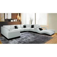canapé cuir blanc pas cher attrayant canape d angle modulable 7 canap233 d angle cuir blanc