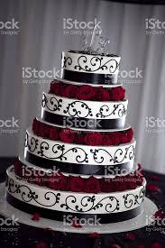 black white and red wedding cake stock photo 182866422 istock