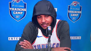 carmelo anthony first interview with okc thunder 2017 media day