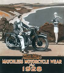 motorcycle wear matchless motorcycle wear for 1928 during the late 1920s