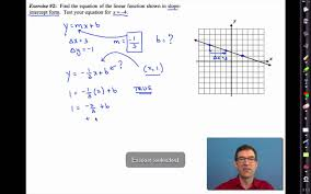 common core algebra i unit 4 lesson 5 writing equations of lines