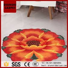 Round Flower Rugs Flower Shaped Rug Flower Shaped Rug Suppliers And Manufacturers