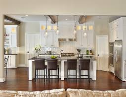 gorgeous kichler lighting in kitchen traditional with molding around door next to refrigerator placement alongside hexagon tile