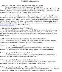 Achievements On Resume The Van Cor Transmission